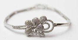 Bracciale a fiore in argento 925°°°