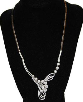 Collier a fiore in argento 925°°°