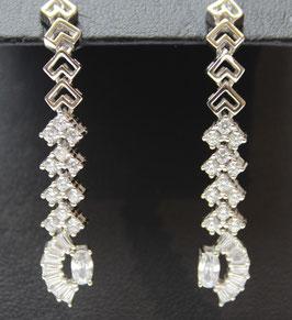 Orecchini ventagli in argento 925°°°