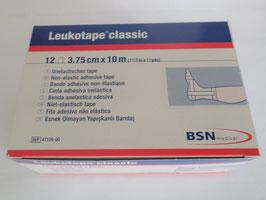 Leukotape Classic, 10 m x 3,75 cm, weiß, 12 Stück