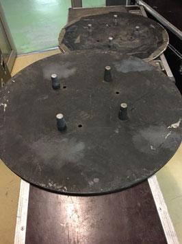 EMBASES LOURDES - DIAM. 80 - 40 kg