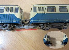 Magnetkupplung für den Fleischmann Akkutriebwagen BR 515