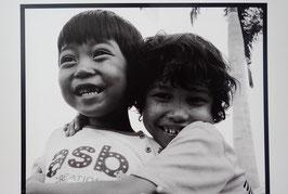 Tableau-haïku - Rires des enfants