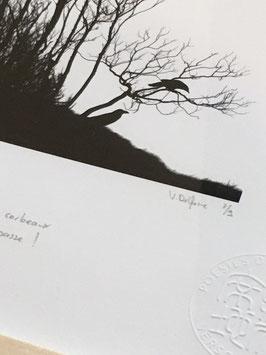 Tableau-haïku - Eclipse de soleil