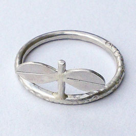 Seedling Sterling Silver Ring