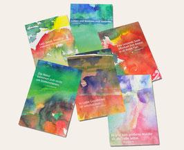 Kunstpostkarten-SET 02 - Weisheiten von Hazrat Inayat Khan