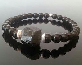 """Schungit """"schwarzer Diamant Kareliens"""" 925 Silber"""