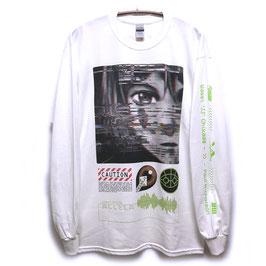 【NUMBER 3】GlitchロングスリーブTシャツ