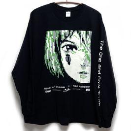 【NUMBER 3】PIXELロングスリーブTシャツ