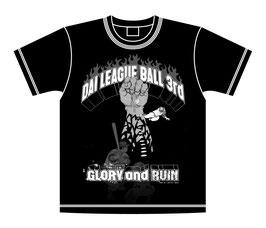 大リーグボール3号Tシャツ-R-