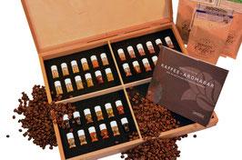 Aromabar Kaffee-Aromen der 36 wichtigsten Kaffeearomen