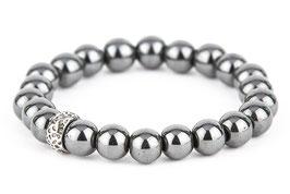 EDDA Hämatit grau 8 oder 10 mm Perlen