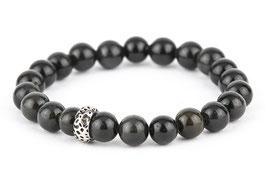 EDDA Obsidian 8 oder 10 mm Perlen