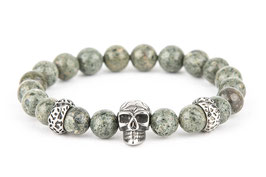 DANKRAD Phyolith 8 mm Perlen - Single Skull