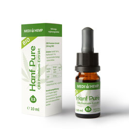 Medi Hemp Hanf Bio Öl 2,5% 10 ml