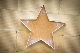 Estrella LED a pilas