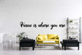 FRASE MADERA HOME IS WHERE YOU ARE