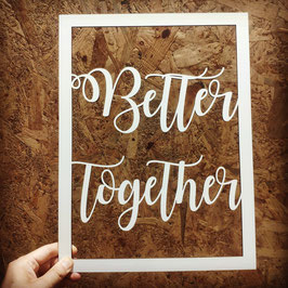 Deco Pared Better Together