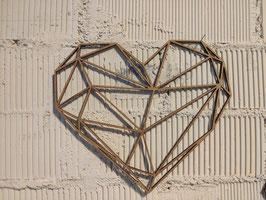 Deco Pared Corazón Origami