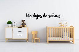 FRASE MADERA NO DEJES DE SOÑAR