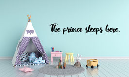 FRASE MADERA THE PRINCE SLEEPS HERE