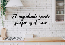 FRASE MADERA EL INGREDIENTE SECRETO...