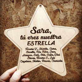 Estrella navidad Profe