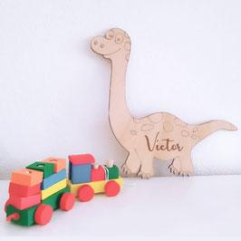 Dino madera personalizable
