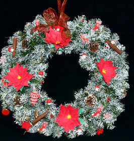"Couronne ""Tradition"" / ""Tradition"" wreath"