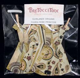 "Guirlande robe Princesse  ""Sous-bois""- ""Undergrowth""  Princess dress garland"