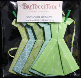 "Guirlande robe Princesse ""Printemps"" - ""Spring"" Princess dress garland"
