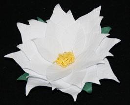 "Rond de serviette ""blanc pur"" / ""Pure white"" napkin ring"
