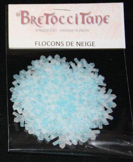 """Flocons de neige """"Glacier"""" / Glacier snowflakes"""
