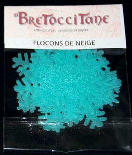 "Flocons de neige ""Turquoise"" / Turquoise snoflakes"