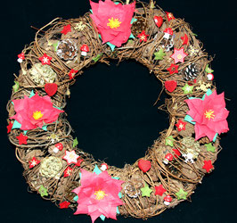 "Couronne ""Naturelle"" / ""Natural"" wreath"