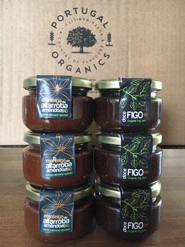 "Caixa ""Pedro"" - unsere süße Portugal Box mit Feigenkompott und Johannisbrotbaumcreme"