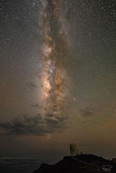 Milky Way from Haleakala Maui, Hawaii, USA