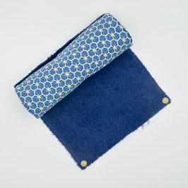 j&j_Essuie-tout lavable | Collection Bleu riad hexagone