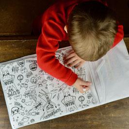 Cahier de coloriage & ses crayons - Collection double gaze