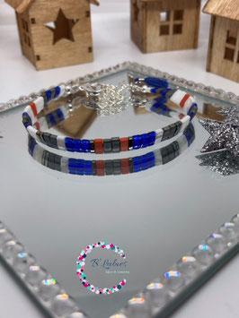 """BL-Bracelet argenté """"Terracotta"""""""