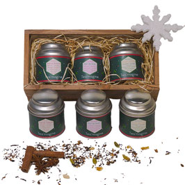 TEA - Coffret de Noël - 3 thés - Rectangle