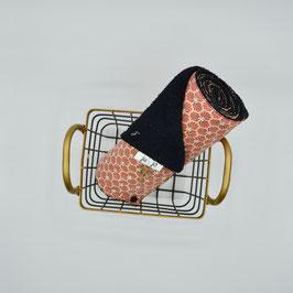 j&j_Essuie-tout lavable | Collection riad hexagone rouge vieilli