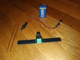 Generador Plata + Cobre Coloidal Portatil