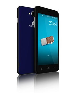 KONROW COOLFIVE 5.0 BLEU + COQUE DE PROTECTION AR