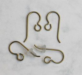 d) Yellow ear hooks (10 pieces)