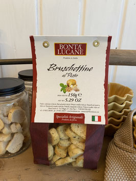 Bruschettine Pesto