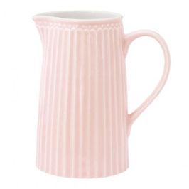 GreenGate Jug Alice pale pink