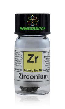 Zirconio pezzi 1 grammo 99,95%
