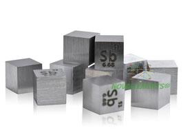 Antimonio cubo densità 10mm 99.99%