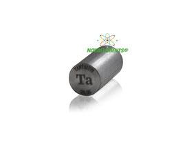 Tantalio cilindro 99,95%